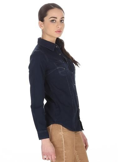 T-Box Gömlek İndigo